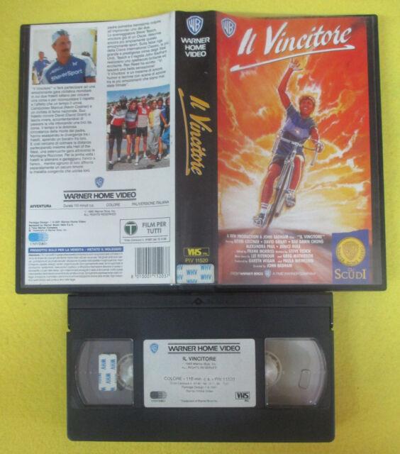 VHS film IL VINCITORE Kevin Costner John Badham WARNER SCUDI 61182 (F115) no dvd