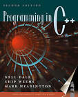 Programming in C++ by Mark Headington, Chip Weems, Nell Dale (Paperback, 2000)
