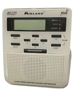 Midland Weather Radio WR-100 Public Alert NOAA Emergency