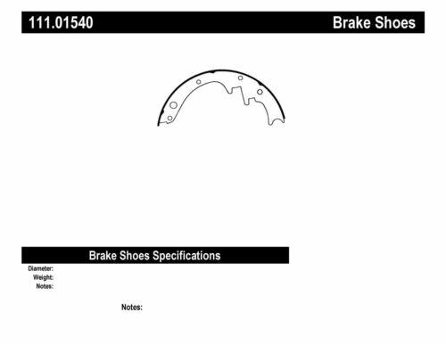 Drum Brake Shoe-Premium Brake Shoes-Preferred Front Centric 111.01540