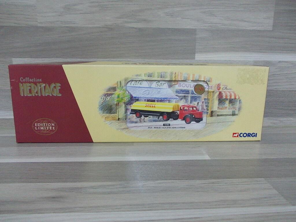 Corgi Heritage Col 1 50 - Berliet GLR mit Semi-Citerne 'Shell'