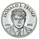 Donald Trump 1 oz .999 Pure Silver Coin Make America Great Again