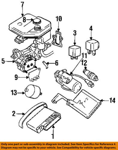 JAGUAR OEM 92-96 XJS 88-93 XJ6 XJ12 ABS Relay DAC7151
