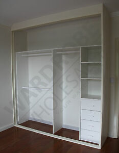 image is loading 2 door diy sliding built in wardrobes customised - Built In Wardrobe