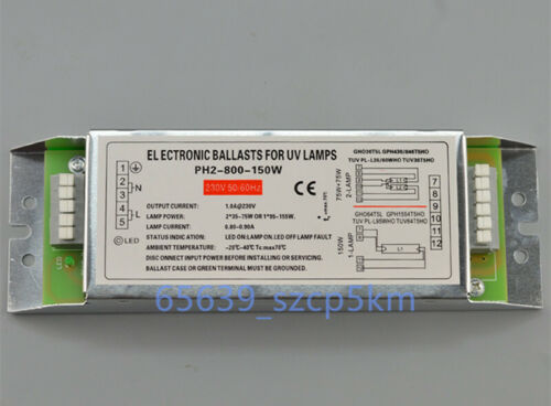 Germicidal UV Lamp Electronic Ballasts 230V for 2 Lamps 2 x 75W