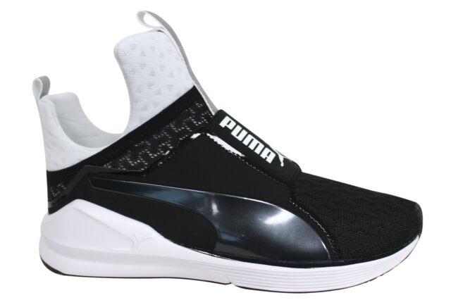 8dc9cd7feb7 Puma Fierce Dance Fitness Training Womens Slip On Trainers Black 189417 05  P5A