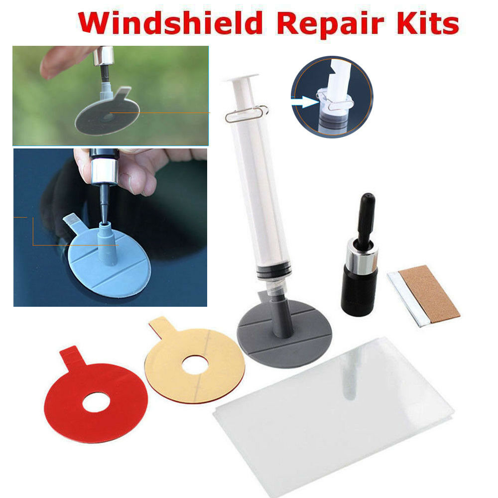 Car Windscreen Windshield Glass Scratch Chip Crack SET Car Repair Tool DIY Kit