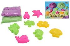 NEW 600G MAGIC MOTION MOVING SAND 8 ANIMAL ACCESSORIES MOULDS 2 TOOL KIDS FUN