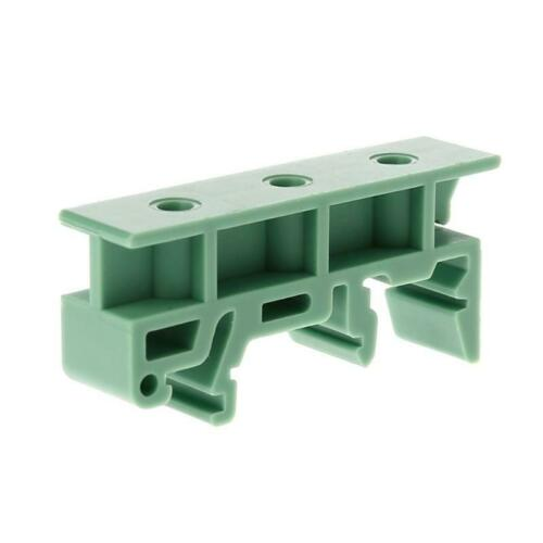 PCB 35mm DIN Rail Mounting Adapter Circuit Board Bracket Holder Carrier Clips