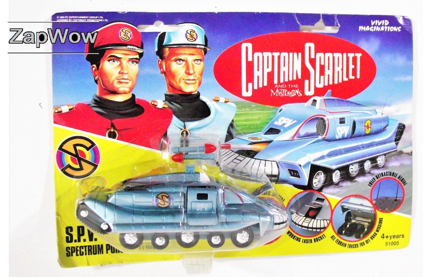 SPECTRUM SPV 1993 Captain Scarlet Vivida Vintage DIE-CAST ITC SPAZIO TV giocattolo 1990s