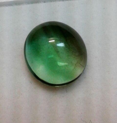 Natural Fluorite Green Color Oval Cabochon Loose Gemstone AJ33