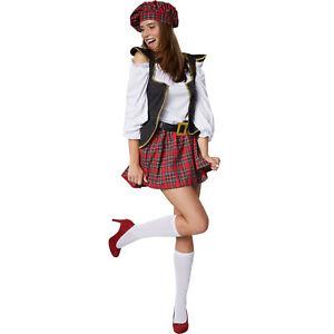 Halloween Kostuum Vrouw.Carnaval Jurk Schotse Halloween Kostuum Schoolmeisje Vrouw