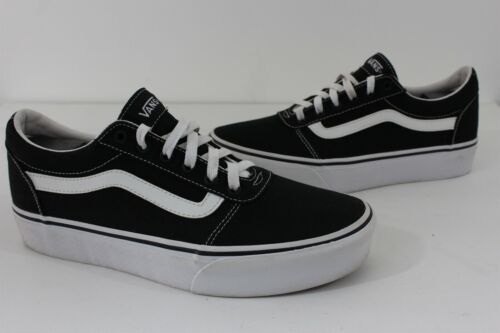 Vans Shoes Women Sz 11 Platform Shoes Black White