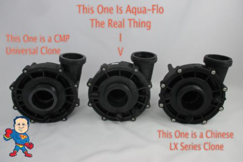 3.5HP Impeller /& Seal Guangdong WUA350 LP350 56 Spa Hot Tub Pump Video How To