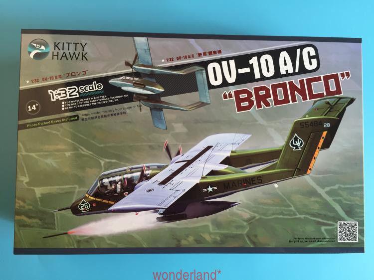 Kitty Hawk 32004 1 32 OV-10 A C Bronco  New