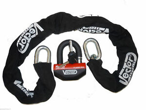 chaine antivol 110 cadenas homologue sra moto quad scooter assurance ebay. Black Bedroom Furniture Sets. Home Design Ideas