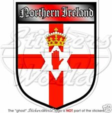 Northern Ireland Flag Helmet Visor Sunstrip Sticker Motorcycle Ulster Banner