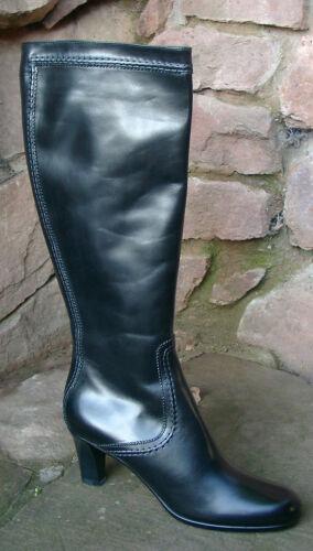 esclusivi Jil ~ gr Stivali Leather Nuovo 39 Smooth Sander Black rqgpt5wxrZ