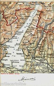 Verona Sulla Cartina Geografica.Verona E Il Lago Di Garda Cart Cartina Geografica