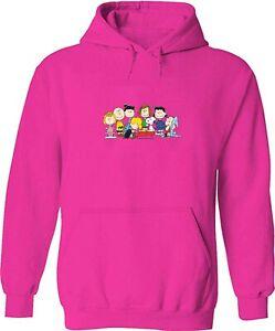 Pullover Sweatshirt Hoodie Sweater Snoopy Woodstock Friends Group Play Piano