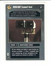 Premiere Black or White Border Star Wars CCG WED15-1662 Treadwell Droid R2