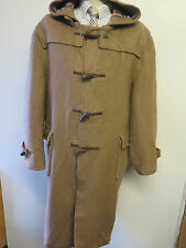 "Genuine  Burberry Wool Duffle Duffel Coat Raincoat L 44-46""  Euro 54-56 - Brown"