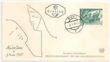 AUSTRIA AUTRICHE OSTERREICH JEAN COCTEAU 1960. L404