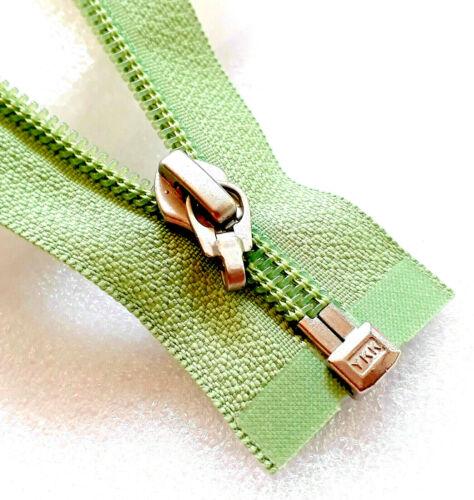 Cremallera verde lima 063 nylon tamaño 5 divisible desechables ykk fermuar cipzár