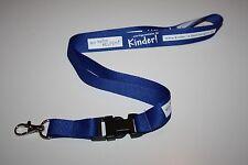 Wir helfen Kindern www.kinder-in-bedraengnis.de  Schlüsselband / Lanyard NEU!!
