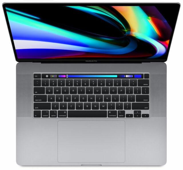 Apple MacBook Pro 16 Zoll (512GB SSD, Intel Core i7 9. Gen, 2,60GHz, 16GB)