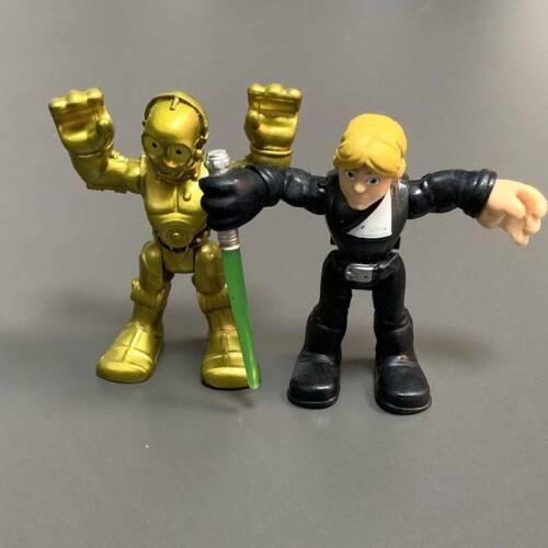 9X Playskool Star Wars Galactic Heroes Jedi Force Trooper Imperial Forces Figure