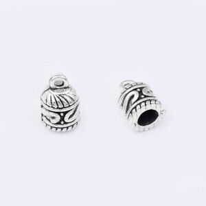 Beads & Jewellelry Making Supplies 100pcs 5mm Silver Tassel End Caps Beads Stopper DIY Jewelry Making Findings