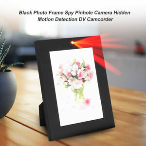 Mini Dv Photo Frame Home Hidden Spy Camera Audio Recorder Motion
