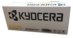 Neu Kyocera TK5150Y TK-5150Y Toner Gelb C