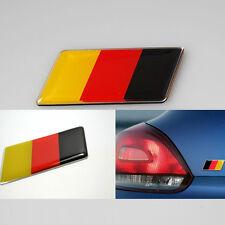 2x Aluminum Germany Flag Rear Emblem Badge Sticker for MK7 MK6 Golf CC GTI Jetta