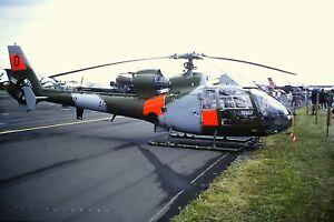 4-325-Aerospatiale-SA341B-Gazelle-AH-1-Royal-Army-Corps-XZ332-Kodachrome-Slide