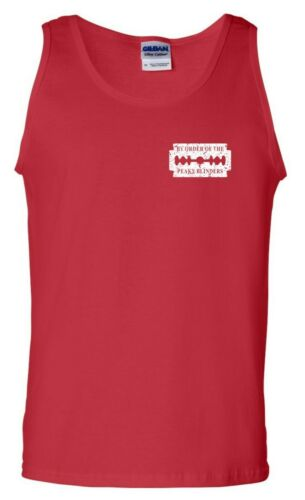 Peaky Blinders Vest Pocket Shelby Brothers By Order Of Xmas Gift Men Tank Top