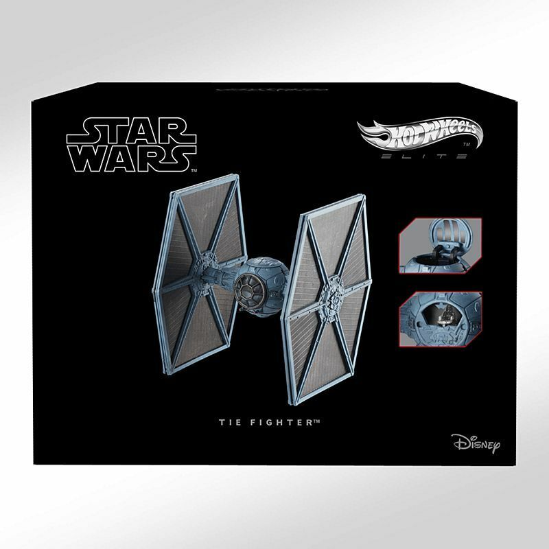 Hot Wheels Elite Star Wars TIE Fighter  CMC92 1:64 Scale Diecast