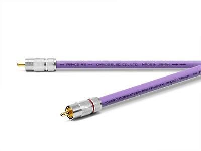 Oyaide RCA Interconnect Cable PA-02TR V2 1.0 m / 3 ft. from Japan