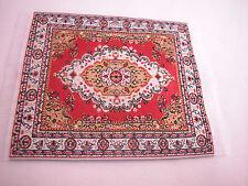 "3""x4""  #1 Dollhouse Miniature 1:12 Scale  Floor Carpet Woven Area Rug"