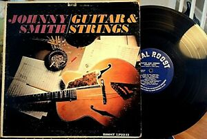 JOHNNY-SMITH-LP-GUITAR-amp-STRINGS-Royal-Roost-LP-2242-1960-VG
