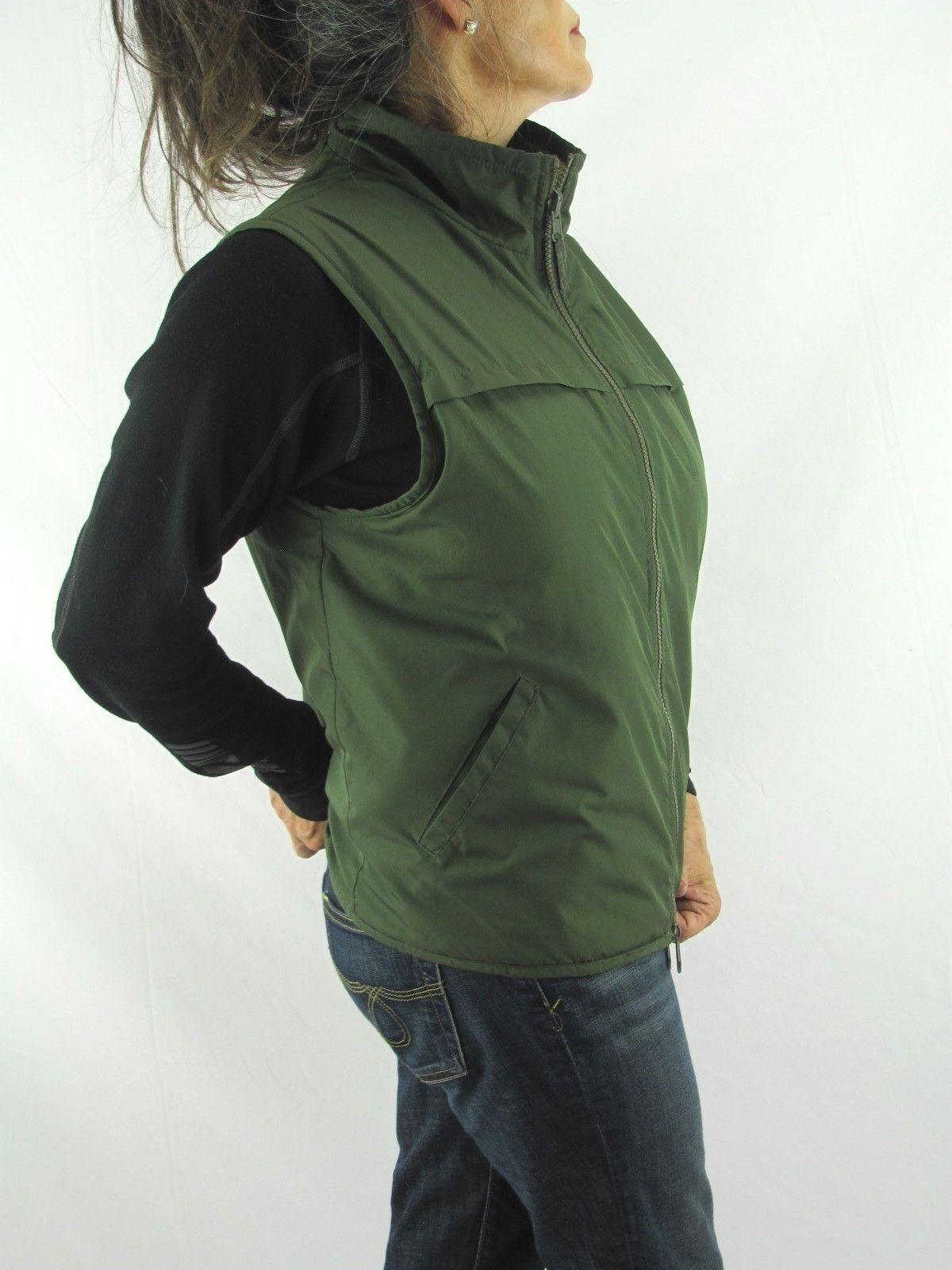 Catalina VTG Olive Green Smooth n Tan Fleece Reve… - image 3