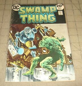 SWAMP-THING-6-Oct-1972-Good-Condition-Comic-Bernie-Wrightson-Cover