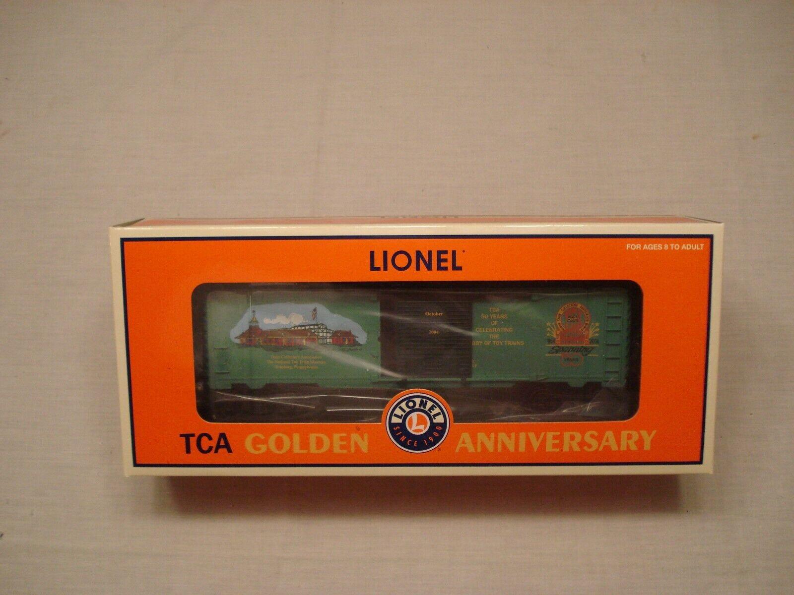 2004 TCA Lionel 6-52361 oroen Anniversary Museum scatola scatola scatola auto – NIOB 391c8b