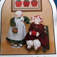 Dream Spinners cloth prairie rag doll pattern tooth fairy kitchen sewing room