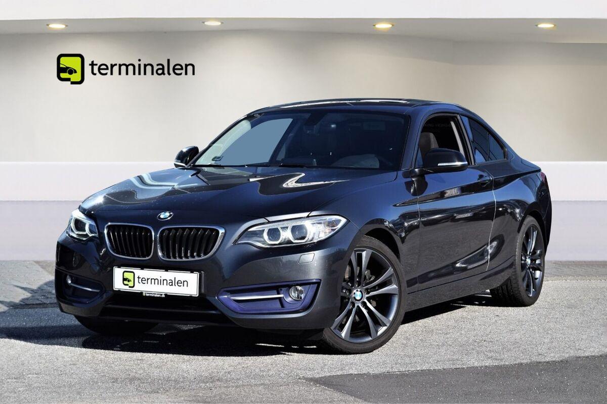 BMW 220d Coupé aut.