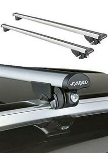 aluminum roof bars farad seat altea xl from 2006 with integrated rails ebay