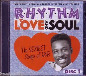 Details about Rhythm Love Soul Sexiest Songs R&B CD Classic WILSON PICKETT  DELLS HEATWAVE