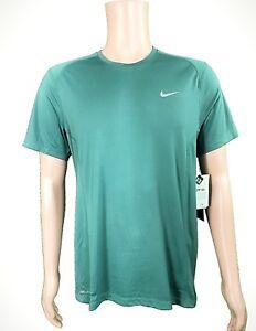 db9fb44c48 NEW Nike Men s Dry Dri-Fit Miler Running T-Shirt UPF +40 HASTA ...