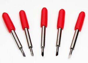 five-45-degrees-Roland-blades-cutting-plotter-vinyl-cutter-Rabbit-Refine-GCC-UK